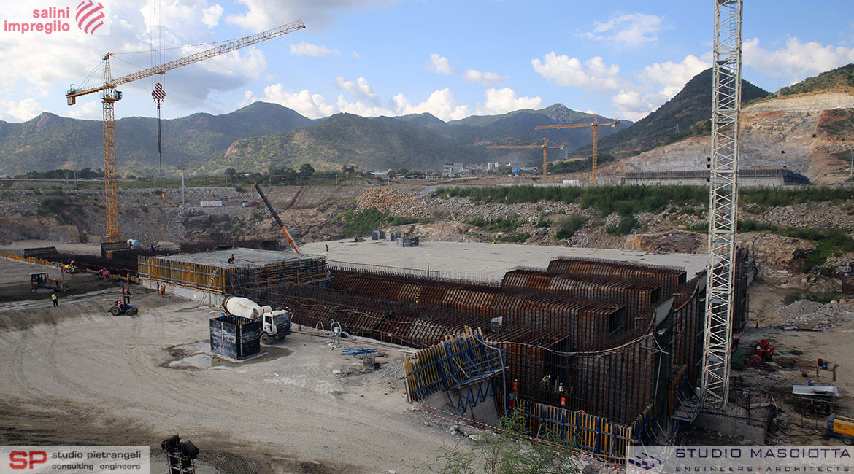 Culverts of GERDP Dam